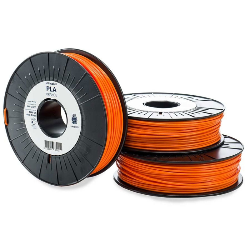Ultimaker PLA Orange 750g