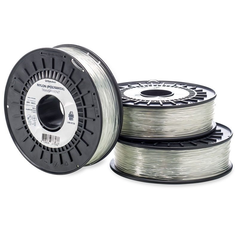 Filament 3D Ultimaker Nylon Naturel 750g Bobine nylon 2.85mm pour imprimante 3D Ultimaker