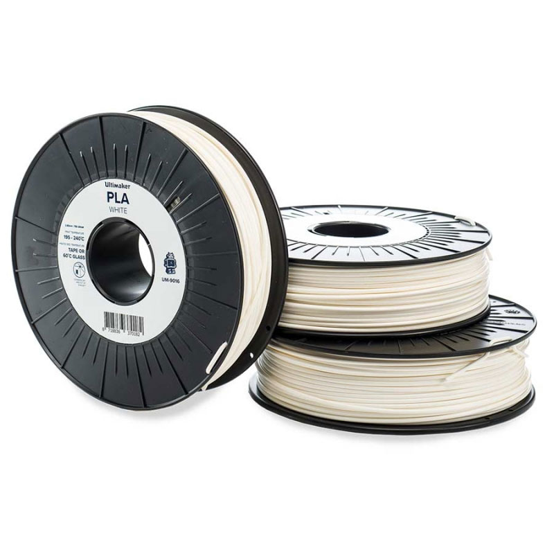 ultimaker pla blanc 750g filament 3d ultimaker sur. Black Bedroom Furniture Sets. Home Design Ideas
