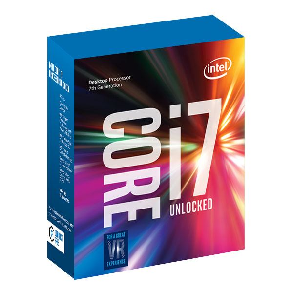 Processeur Intel Core i7-7700K (4.2 GHz) Processeur Quad Core Socket 1151 Cache L3 8 Mo Intel HD Graphics 630 0.014 micron (version boîte sans ventilateur - garantie Intel 3 ans)