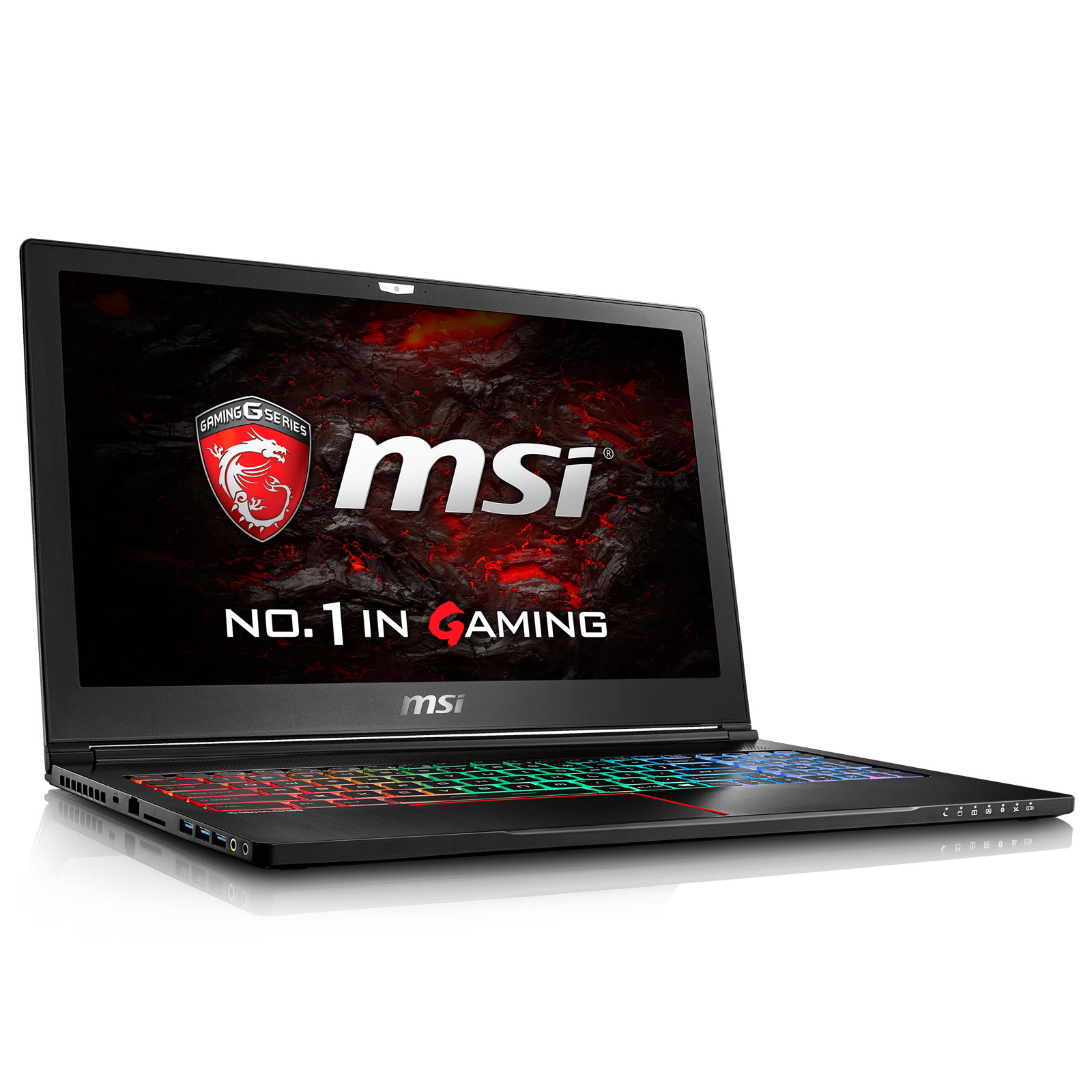 "PC portable MSI GS63VR 7RG-008FR Stealth Pro 4K Intel Core i7-7700HQ 16 Go SSD 512 Go + HDD 2 To 15.6"" LED Ultra HD NVIDIA GeForce GTX 1070 8 Go Wi-Fi AC/Bluetooth Webcam Windows 10 Famille 64 bits (garantie constructeur 2 ans)"