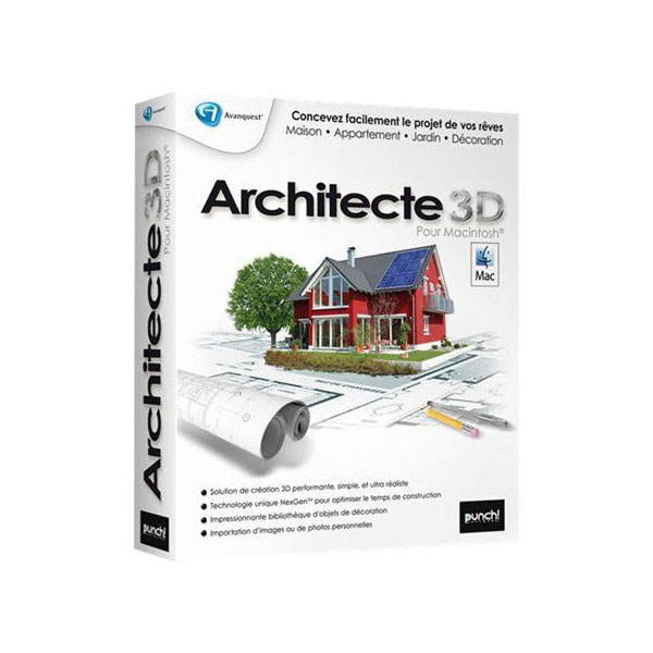 Avantquest architecte 3d 2010 mac avanquest for Architecte 3d avanquest