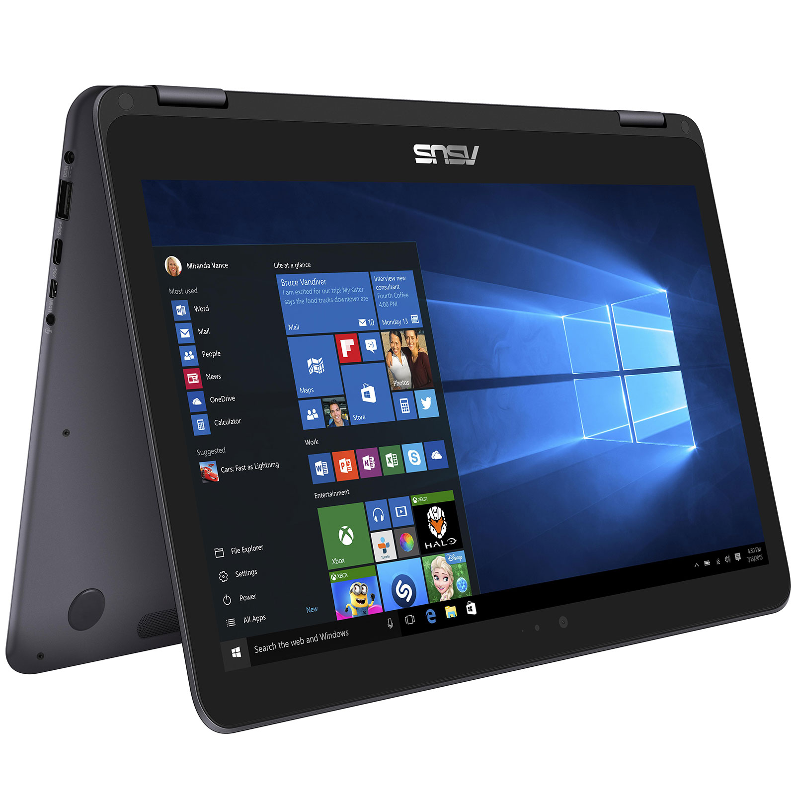 asus zenbook flip ux360uak bb322r pc portable asus sur. Black Bedroom Furniture Sets. Home Design Ideas