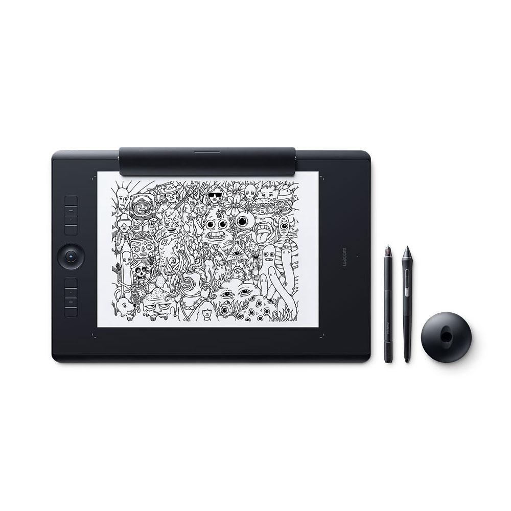 wacom intuos pro medium paper edition tablette graphique wacom sur. Black Bedroom Furniture Sets. Home Design Ideas