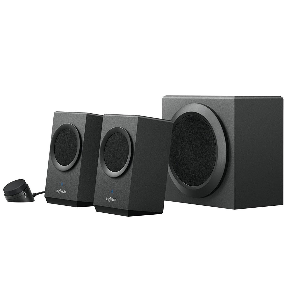 logitech z337 bold sound with bluetooth enceinte pc logitech sur. Black Bedroom Furniture Sets. Home Design Ideas