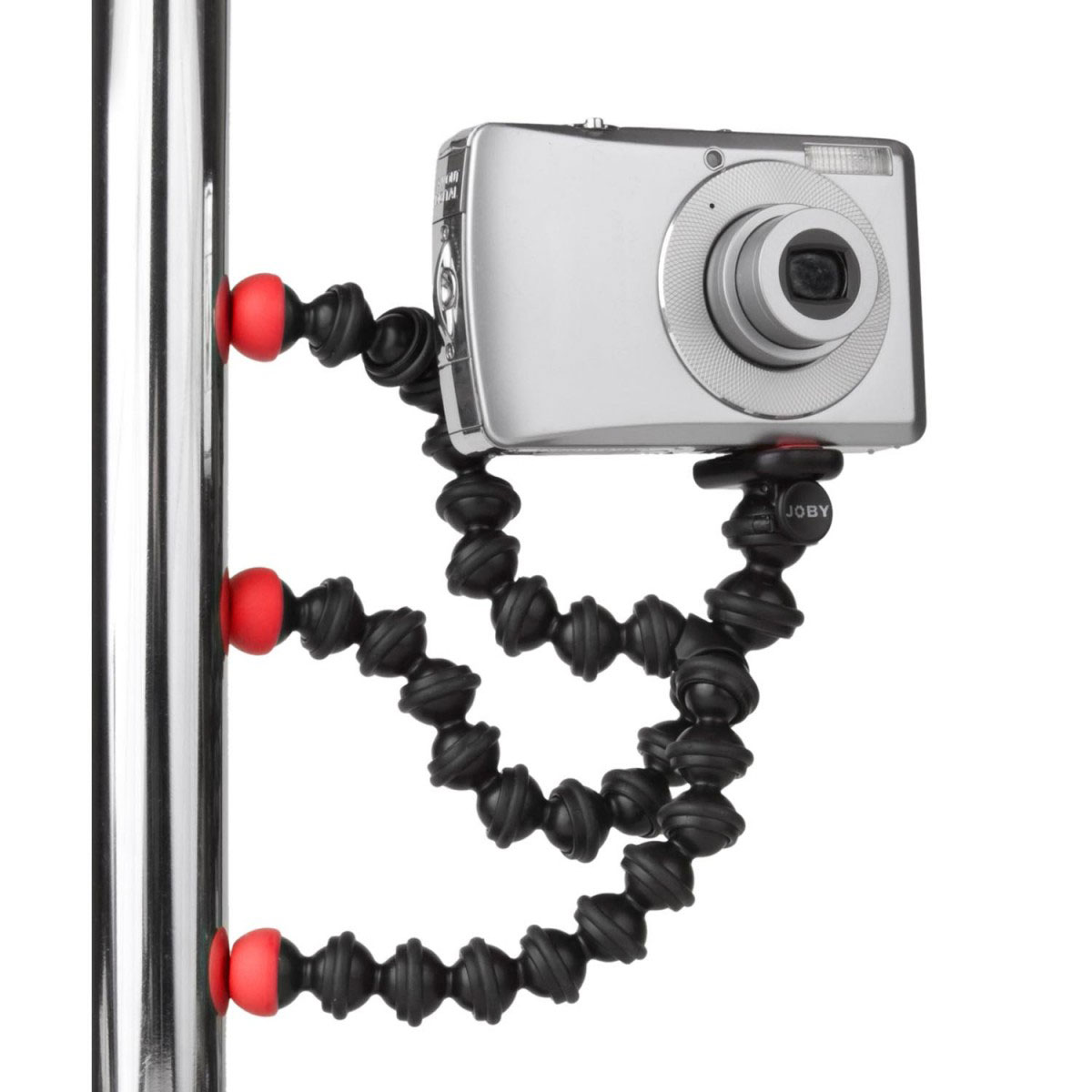 joby gorillapod magnetic noir rouge tr pied appareil photo joby sur. Black Bedroom Furniture Sets. Home Design Ideas