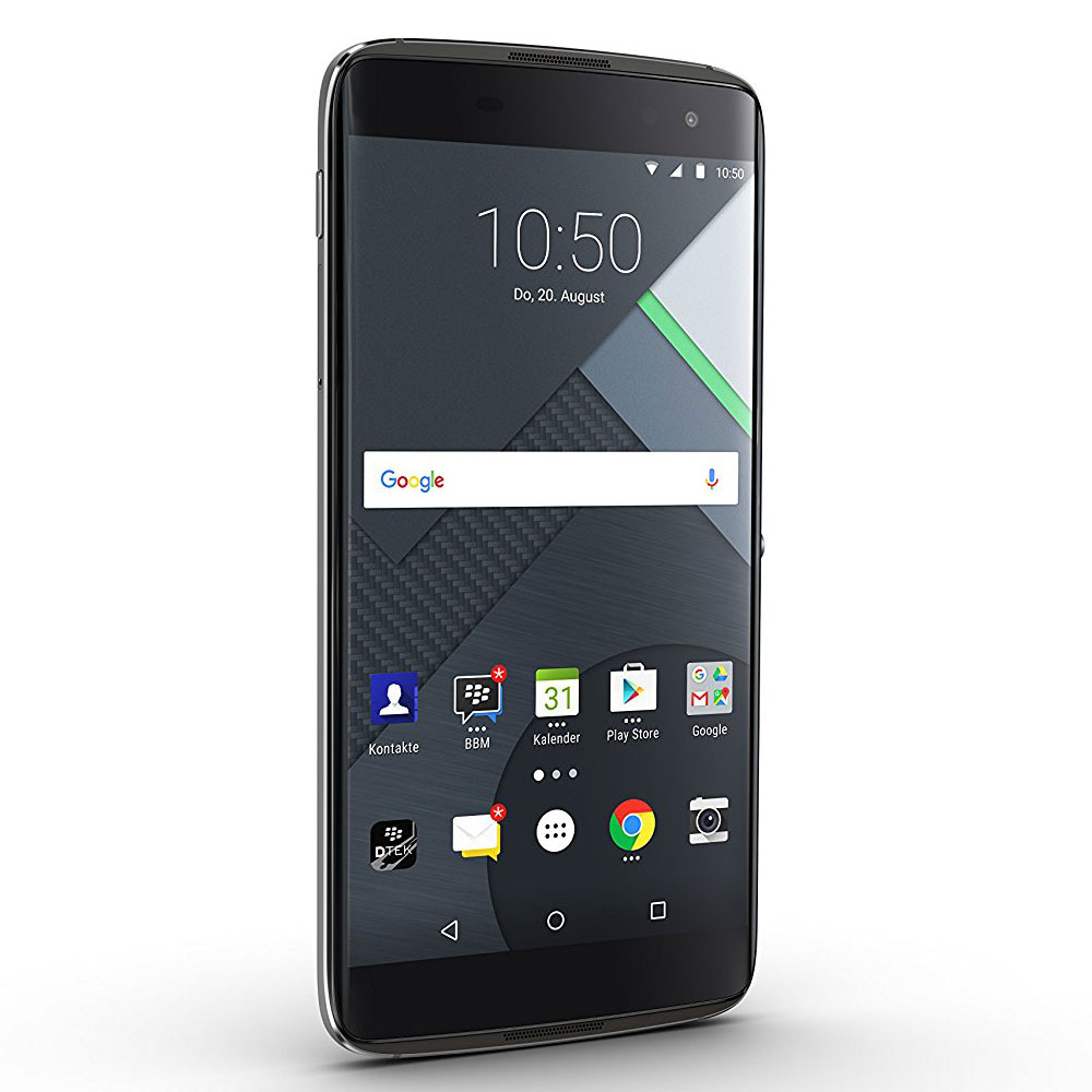 Blackberry dtek60 noir mobile smartphone blackberry for Photo ecran blackberry