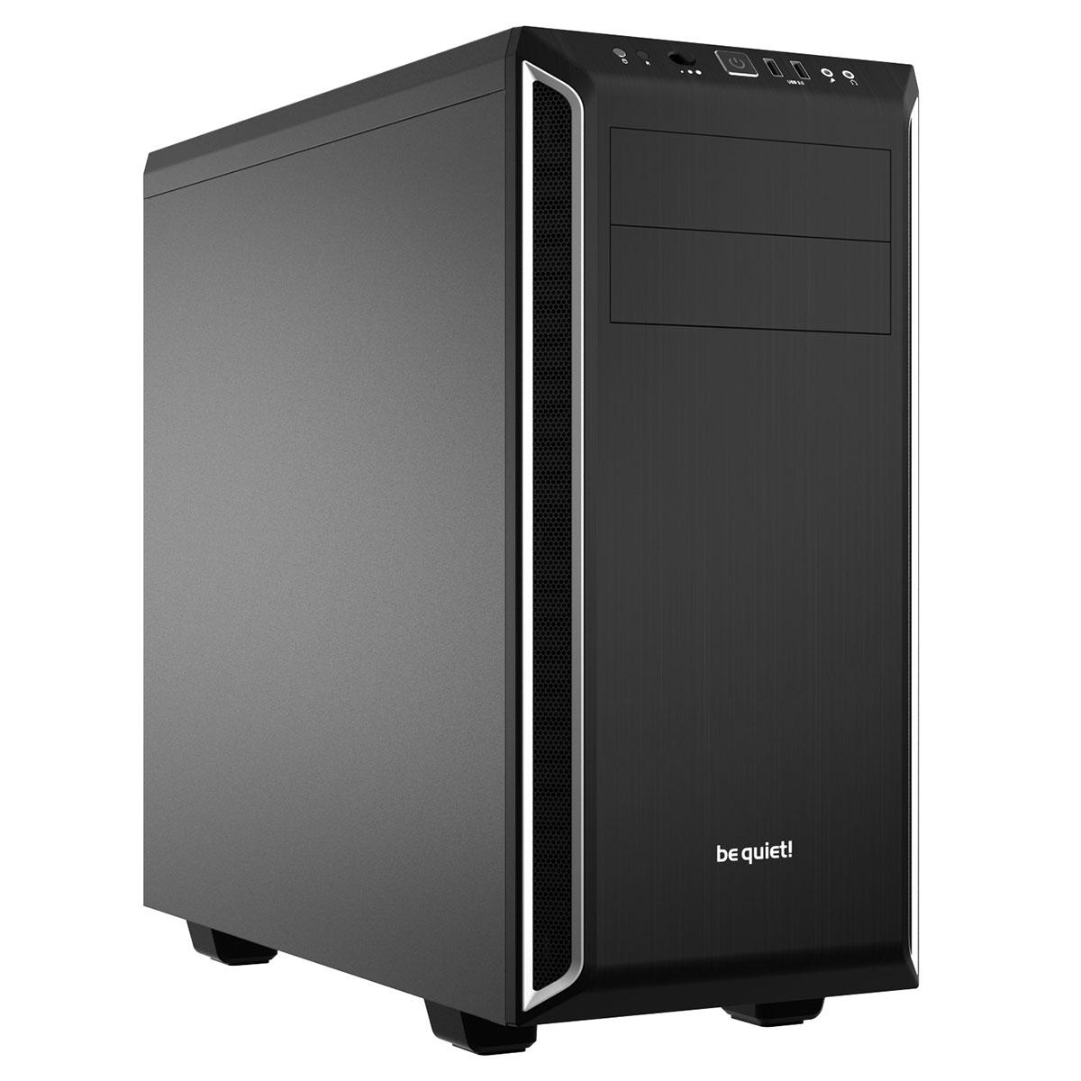 Boîtier PC be quiet! Pure Base 600 (Noir/Argent) Boîtier moyen tour