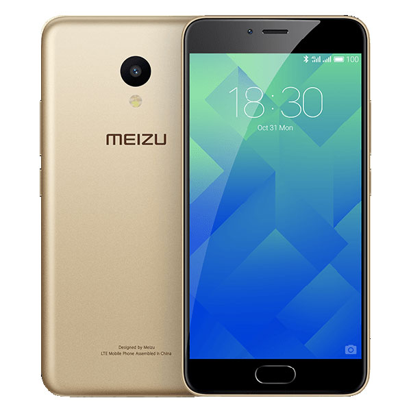 "Mobile & smartphone Meizu M5 32 Go Or Smartphone 4G-LTE Dual SIM - ARM Cortex-A53 8-Core 1.5 Ghz - RAM 3 Go - Ecran tactile 5.2"" 720 x 1280 - 32 Go - Bluetooth 4.1 - 3070 mAh - Android 6.0"