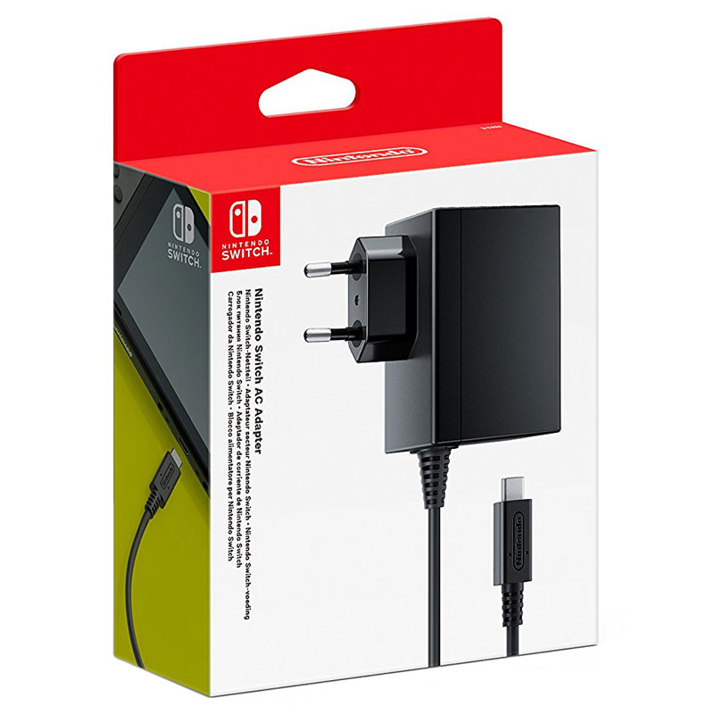Accessoires Nintendo Switch Nintendo Switch Adaptateur Secteur Adaptateur secteur pour Nintendo Switch