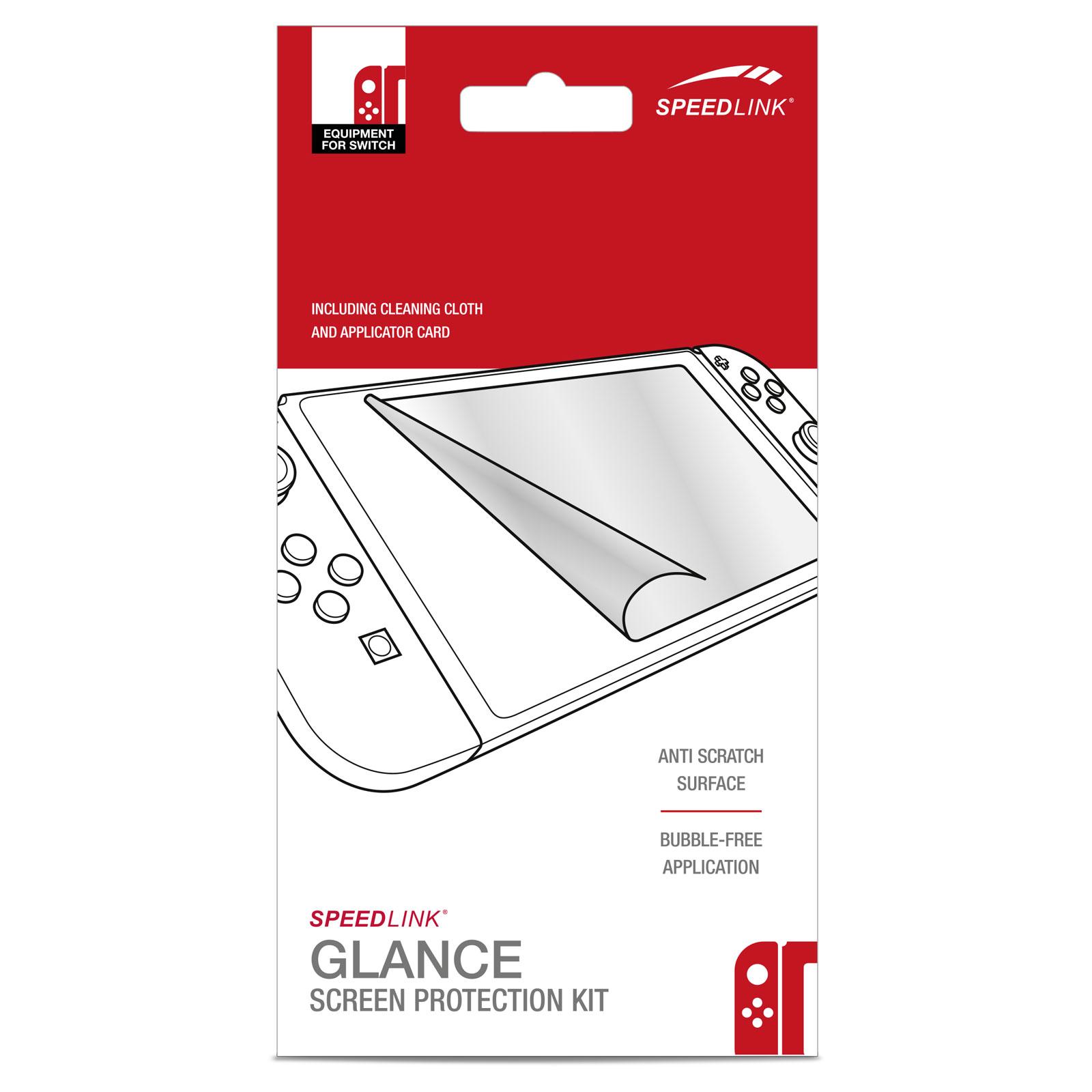 Accessoires Nintendo Switch Speedlink Glance Film protecteur pour Nintendo Switch