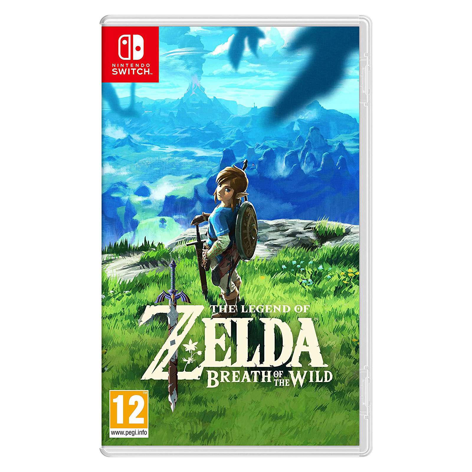 Jeux Nintendo Switch The Legend of Zelda : Breath of the Wild (Switch) The Legend of Zelda : Breath of the Wild (Switch)