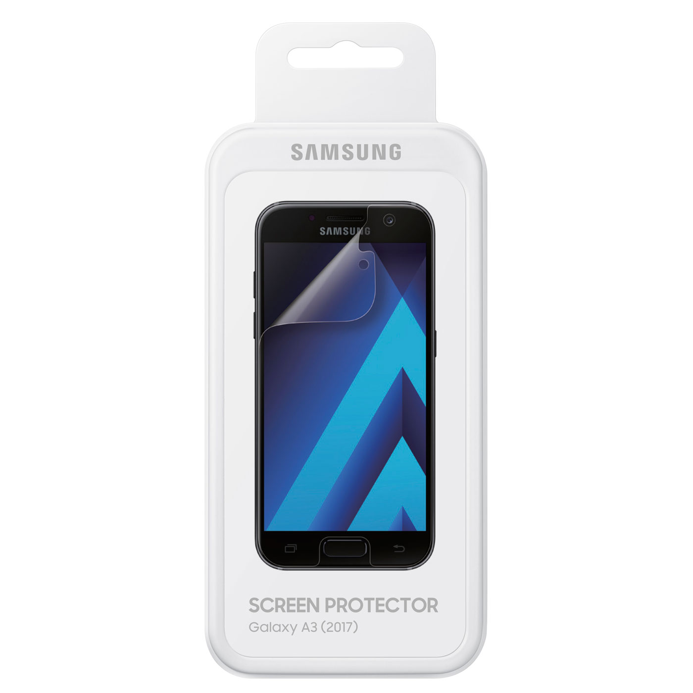 samsung screen protector pour galaxy a3 2017 film protecteur t l phone samsung sur. Black Bedroom Furniture Sets. Home Design Ideas