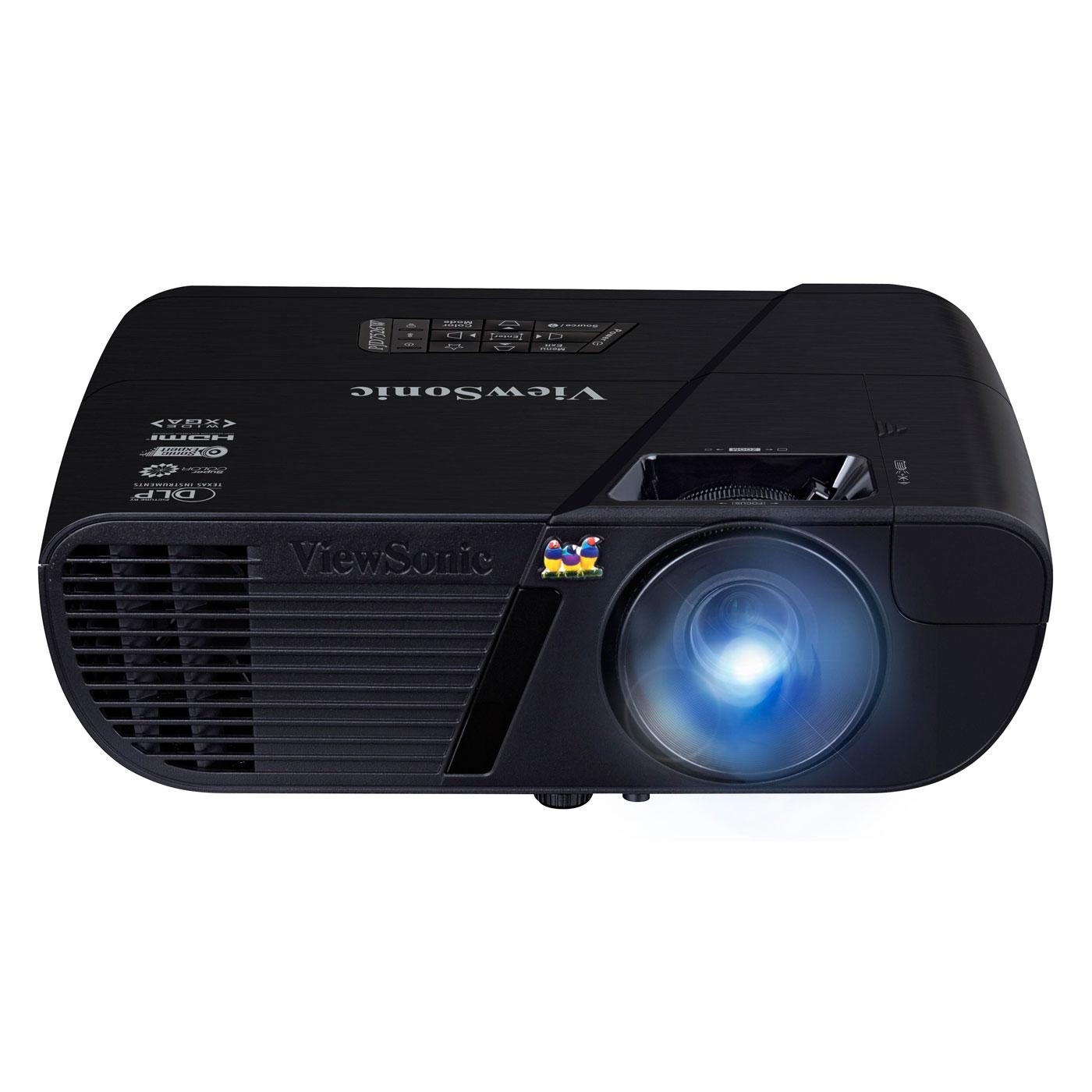 Vidéoprojecteur ViewSonic PJD7526W Vidéoprojecteur DLP WXGA 3D Blu-ray 4000 Lumens HDMI/MHL