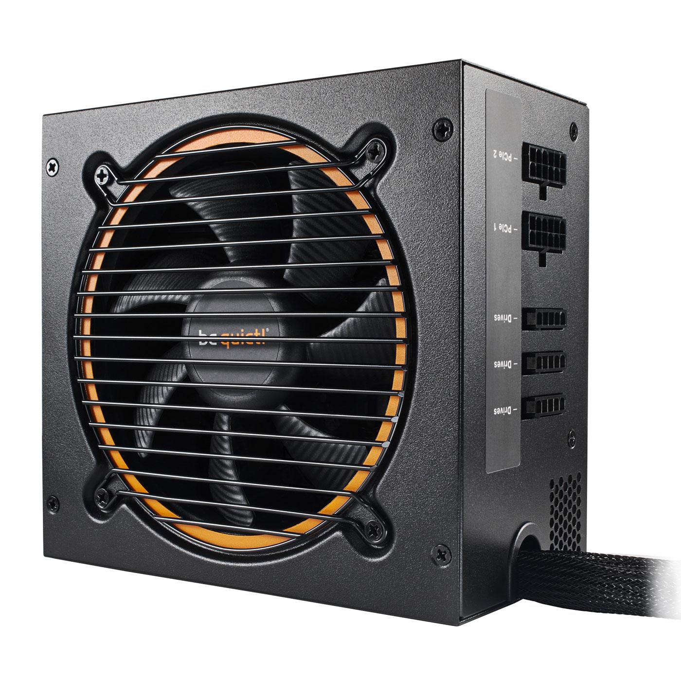 Alimentation PC be quiet! Pure Power 10 Modulaire 600W 80PLUS Silver Alimentation modulaire 600W ATX 12V 2.4 / EPS 12V 2.92 (Garantie 3 ans constructeur) - 80PLUS Silver
