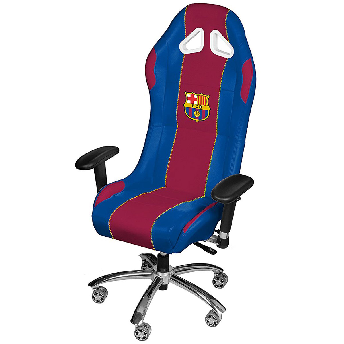 subsonic football gaming chair fc barcelone fauteuil. Black Bedroom Furniture Sets. Home Design Ideas