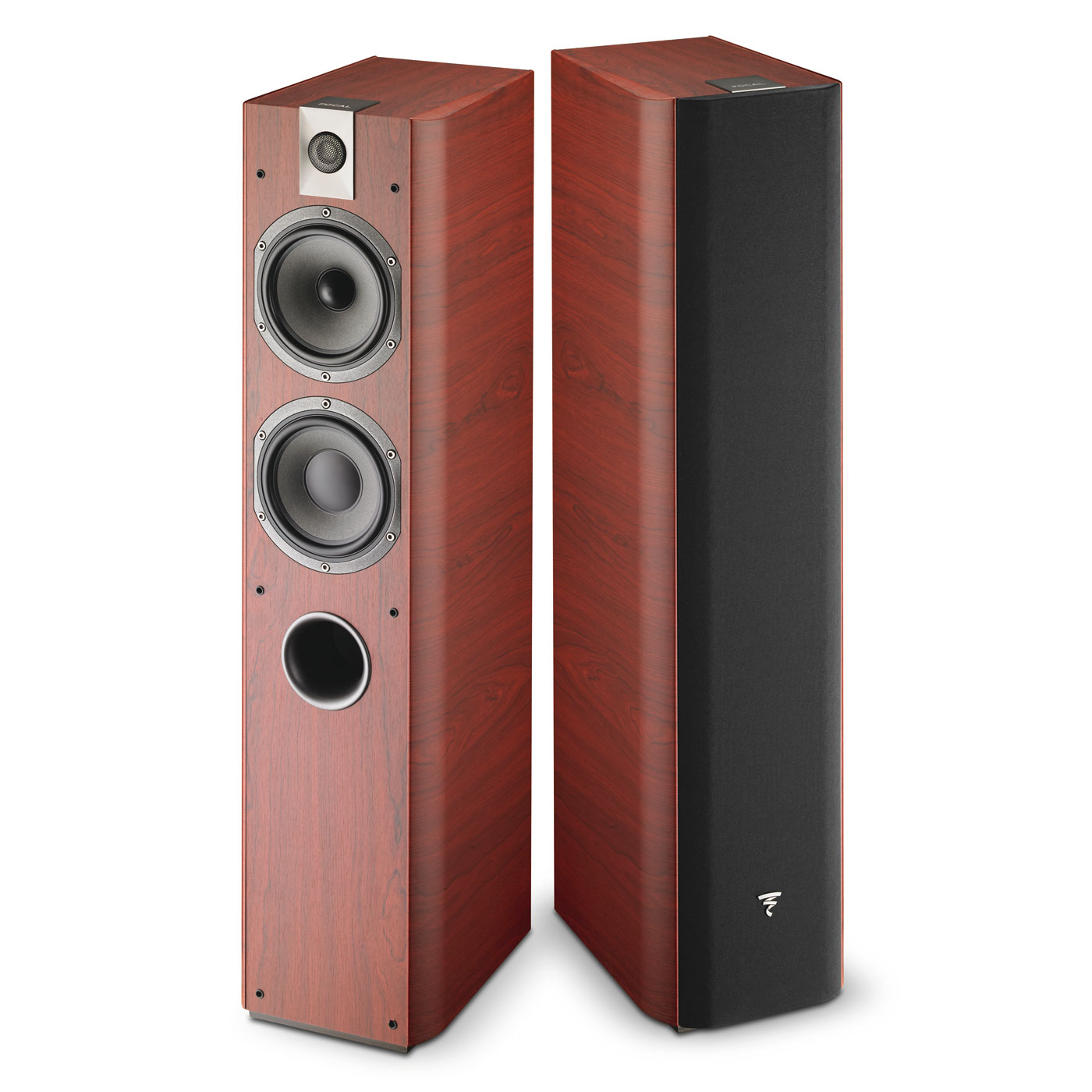 focal chorus 716 rosewood enceintes hifi focal sur. Black Bedroom Furniture Sets. Home Design Ideas