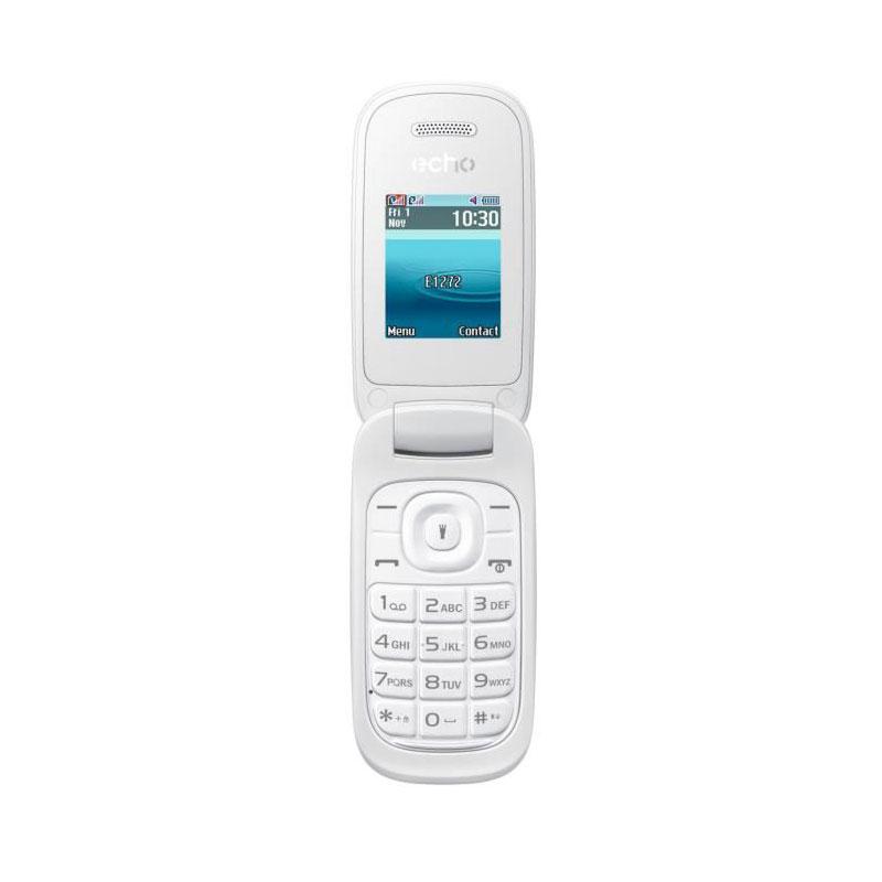 "Mobile & smartphone Echo Clap 2 Blanc Téléphone 2G Dual SIM - RAM 32 Mo - Ecran 1.77"" - 32 Mo - Bluetooth 2.1 - 800 mAh"