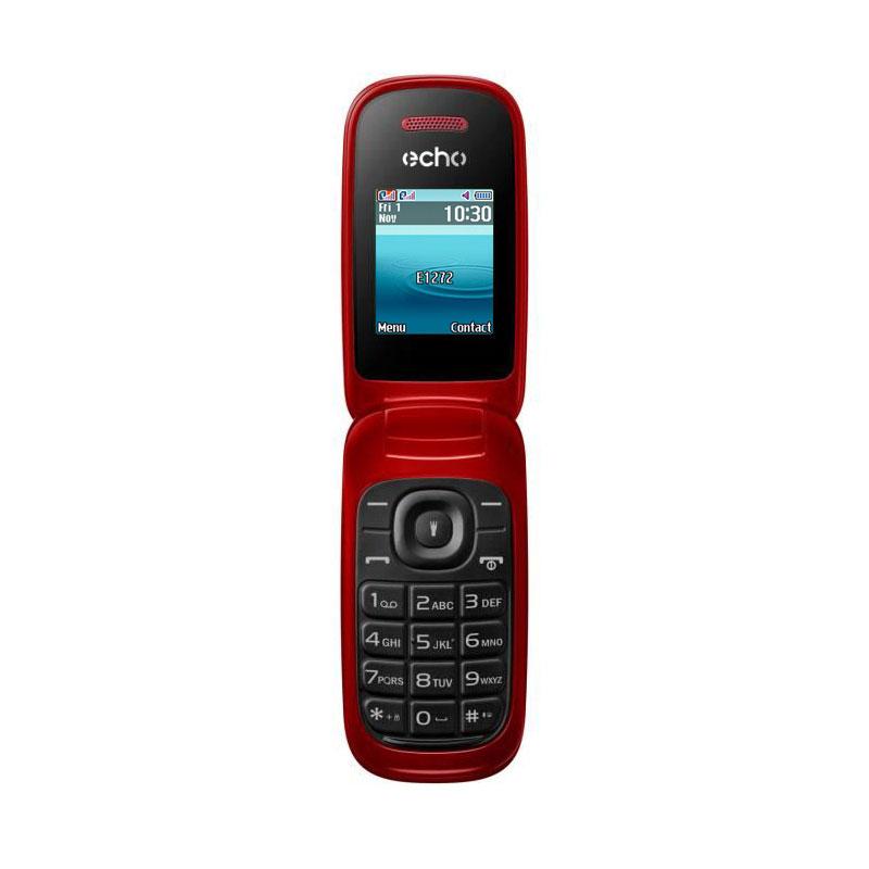 "Mobile & smartphone Echo Clap 2 Rouge Téléphone 2G Dual SIM - RAM 32 Mo - Ecran 1.77"" - 32 Mo - Bluetooth 2.1 - 800 mAh"
