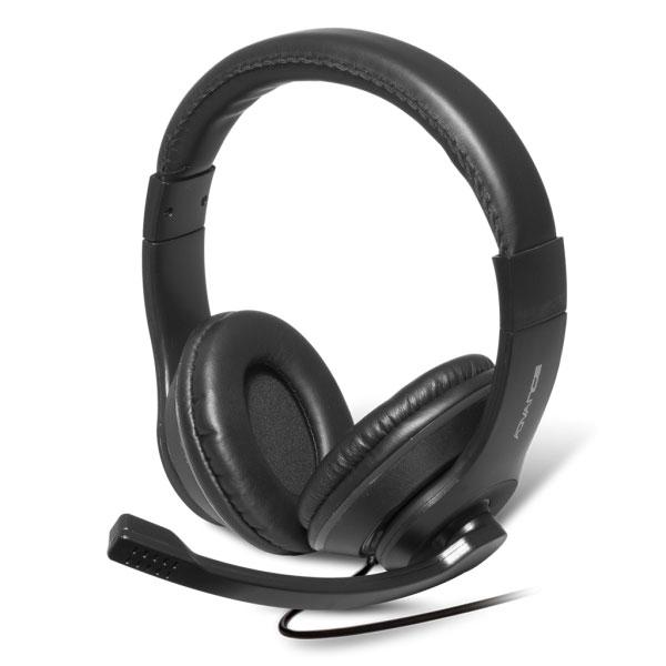Micro-casque Advance Headphonics Pro Casque-micro stéréo circum-aural avec télécommande