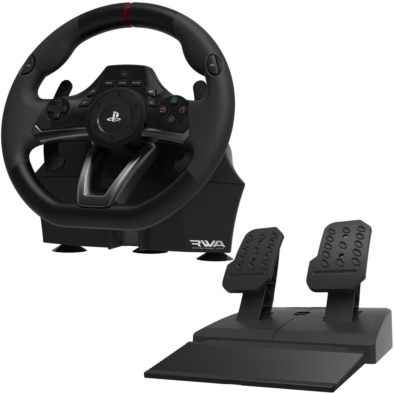 hori racing wheel apex ps3 ps4 pc volant pc hori sur. Black Bedroom Furniture Sets. Home Design Ideas