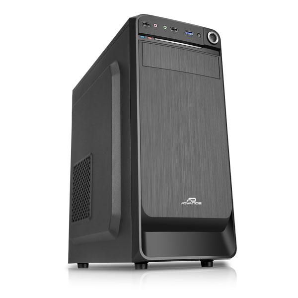 Boîtier PC Advance Origin 350 Boîtier Moyen Tour Noir avec alimentation 350W