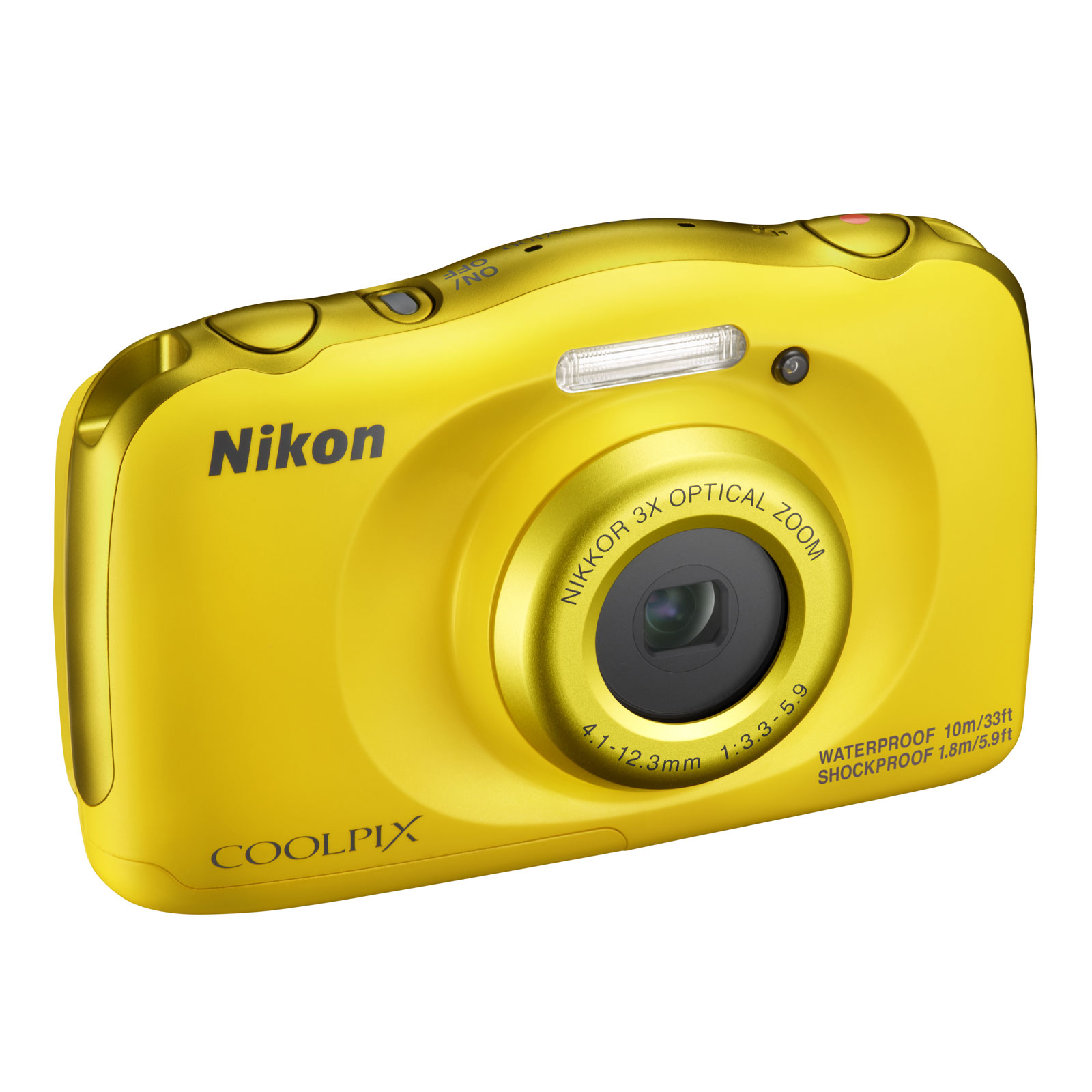 nikon coolpix w100 jaune appareil photo num rique nikon. Black Bedroom Furniture Sets. Home Design Ideas