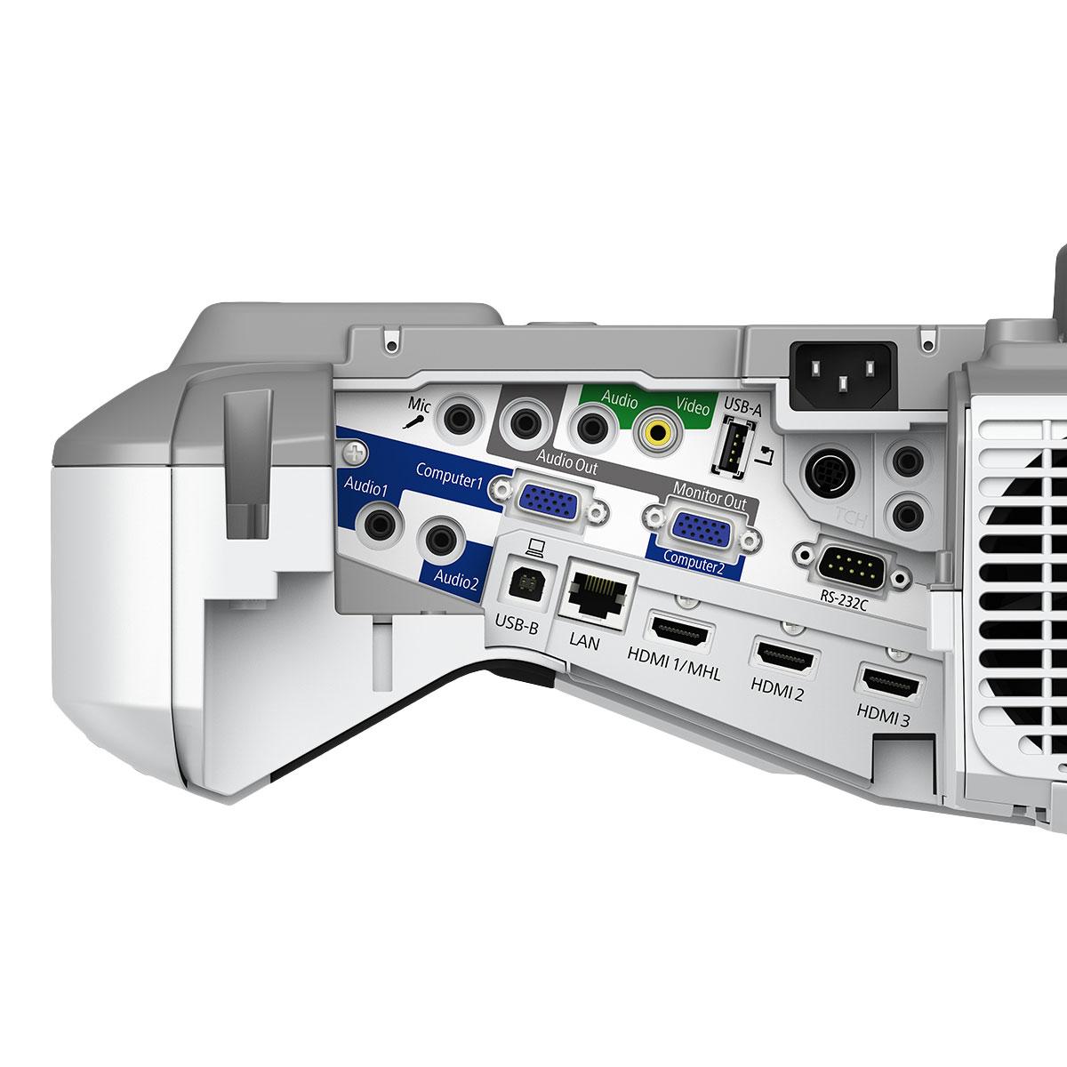 Epson eb 695wi vid oprojecteur epson sur - Videoprojecteur home cinema pour un interieur ultra moderne ...