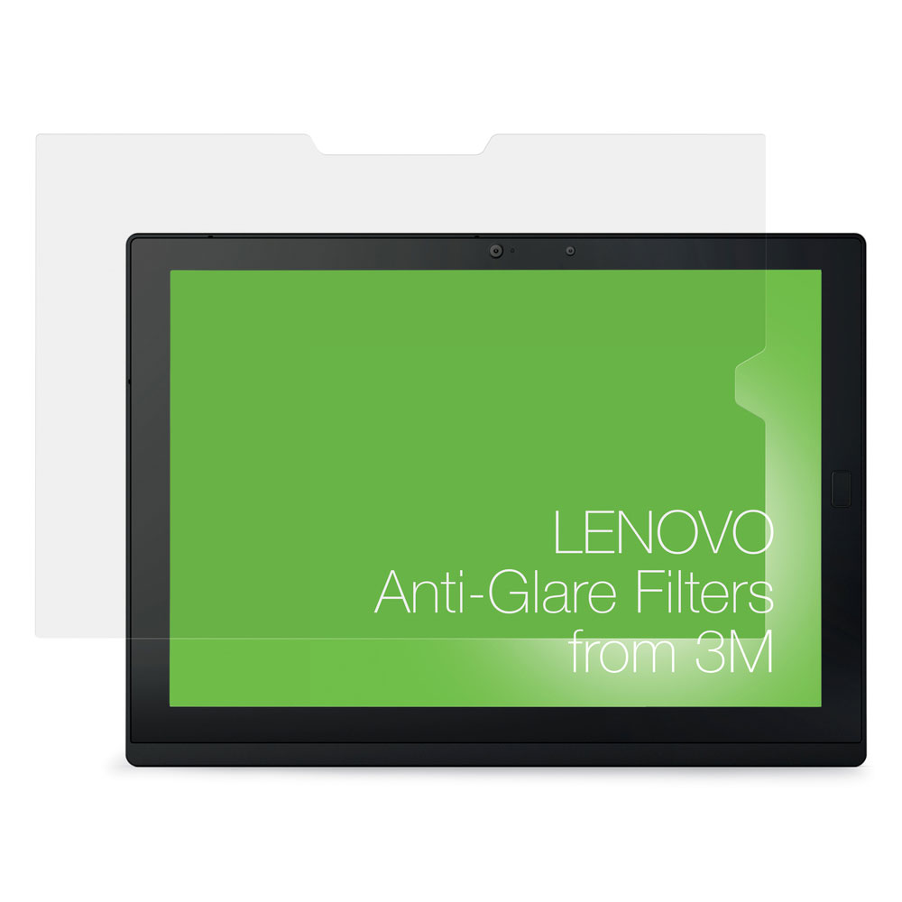 lenovo anti glare filter for x1 tablet from 3m accessoires pc portable lenovo sur. Black Bedroom Furniture Sets. Home Design Ideas