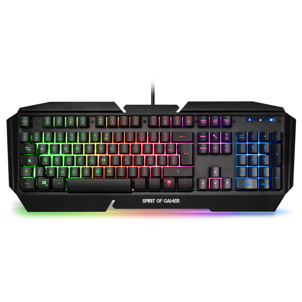 spirit of gamer pro k5 clavier gamer spirit of gamer sur