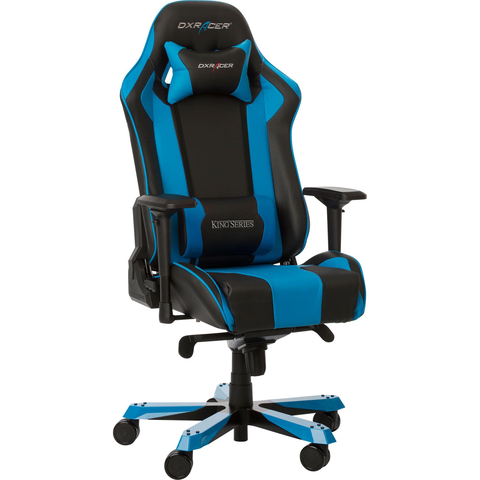 dxracer king ks06 bleu fauteuil gamer dxracer sur. Black Bedroom Furniture Sets. Home Design Ideas