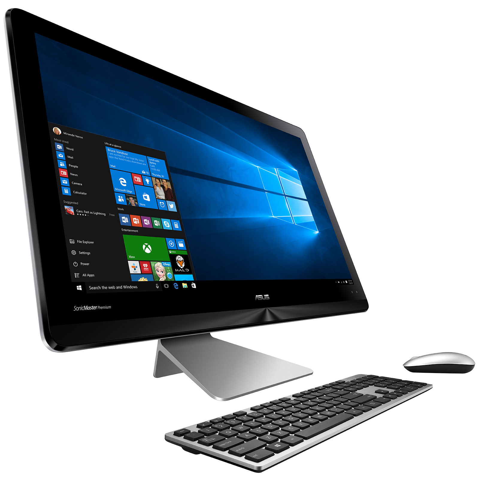 Asus zen aio zn241icuk ra016t pc de bureau asus sur - Ordinateur de bureau windows 7 pro ...