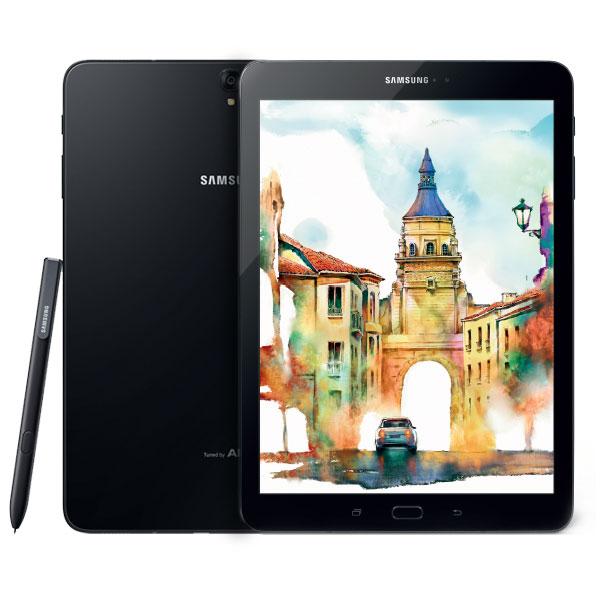 "Tablette tactile Samsung Galaxy Tab S3 9.7"" SM-T825 32 Go Noir Tablette Internet 4G-LTE - Qualcomm Snapdragon 820 Quad-Core 2.15 GHz 4 Go 32 Go 9.7"" tactile 4G/Wi-Fi/Bluetooth/Webcam Android 7.0"