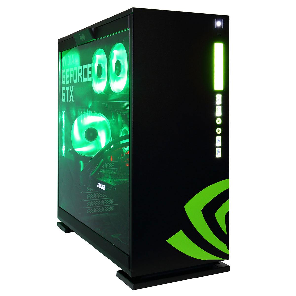 PC de bureau LDLC PC RealT Intel Core i7-7700K (4.2 GHz) 16 Go SSD 250 Go + SSHD 2 To NVIDIA GeForce GTX 1080 8 Go (sans OS - monté)