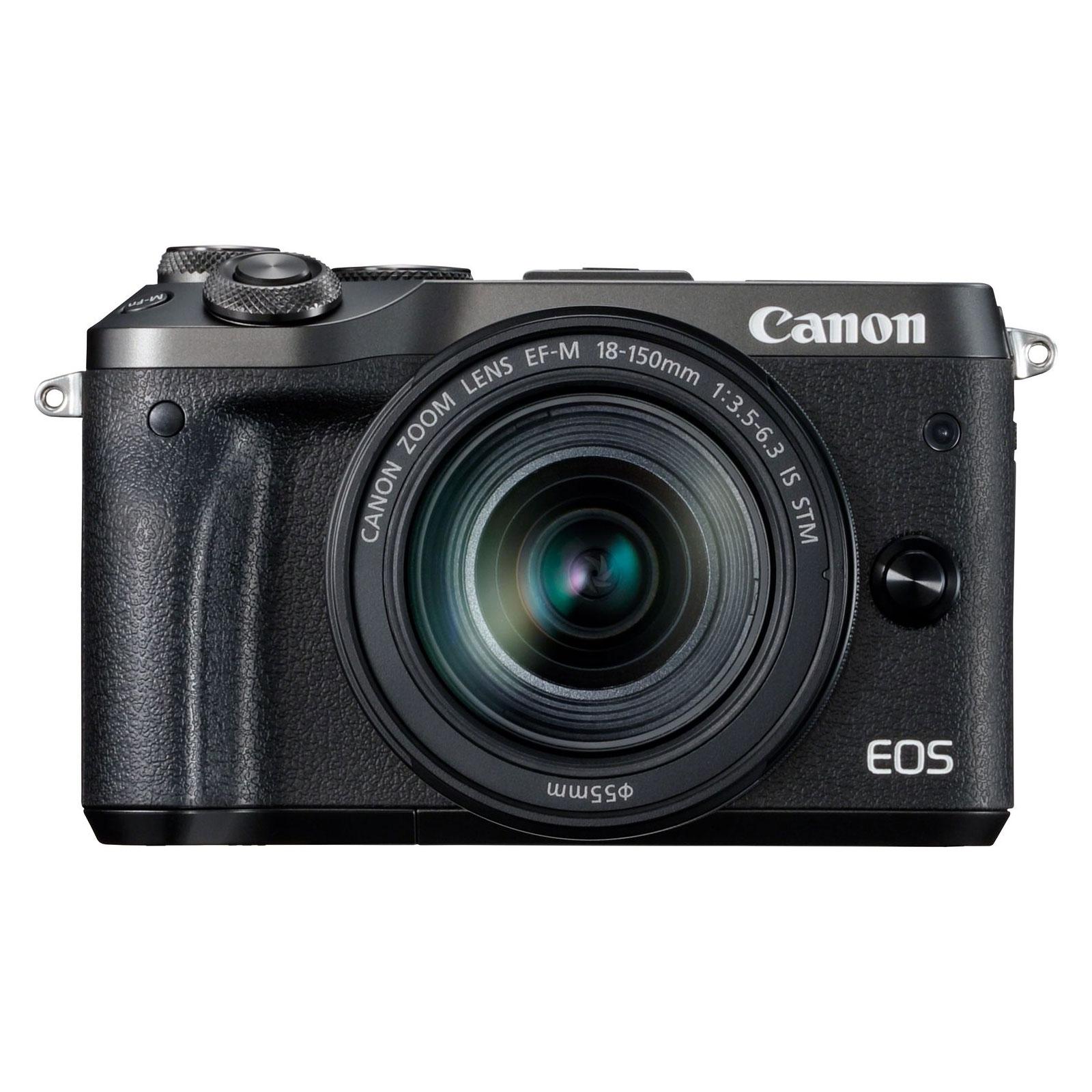Canon eos m6 noir ef m 18 150 mm is stm appareil photo for Ecran appareil photo canon