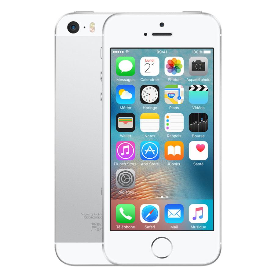 apple iphone se 128 go argent mobile smartphone apple. Black Bedroom Furniture Sets. Home Design Ideas