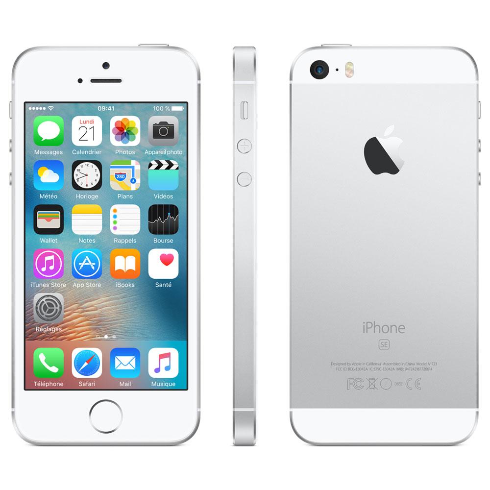 apple iphone se 32 go argent mobile smartphone apple sur. Black Bedroom Furniture Sets. Home Design Ideas