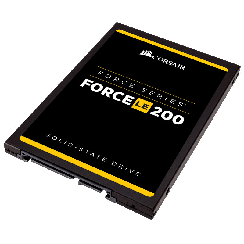 "Disque SSD Corsair Force Series LE200 120 Go SSD 120 Go 2.5"" Serial ATA 6Gb/s - CSSD-F120GBLE200B"