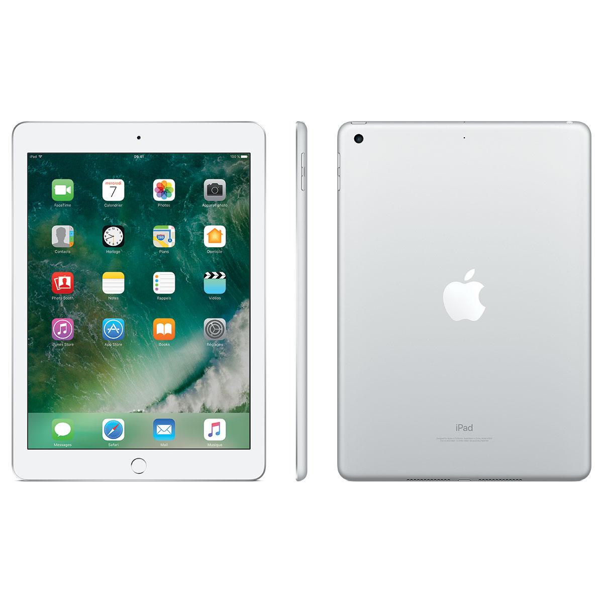 apple ipad wi fi 32 gb wi fi argent tablette tactile. Black Bedroom Furniture Sets. Home Design Ideas