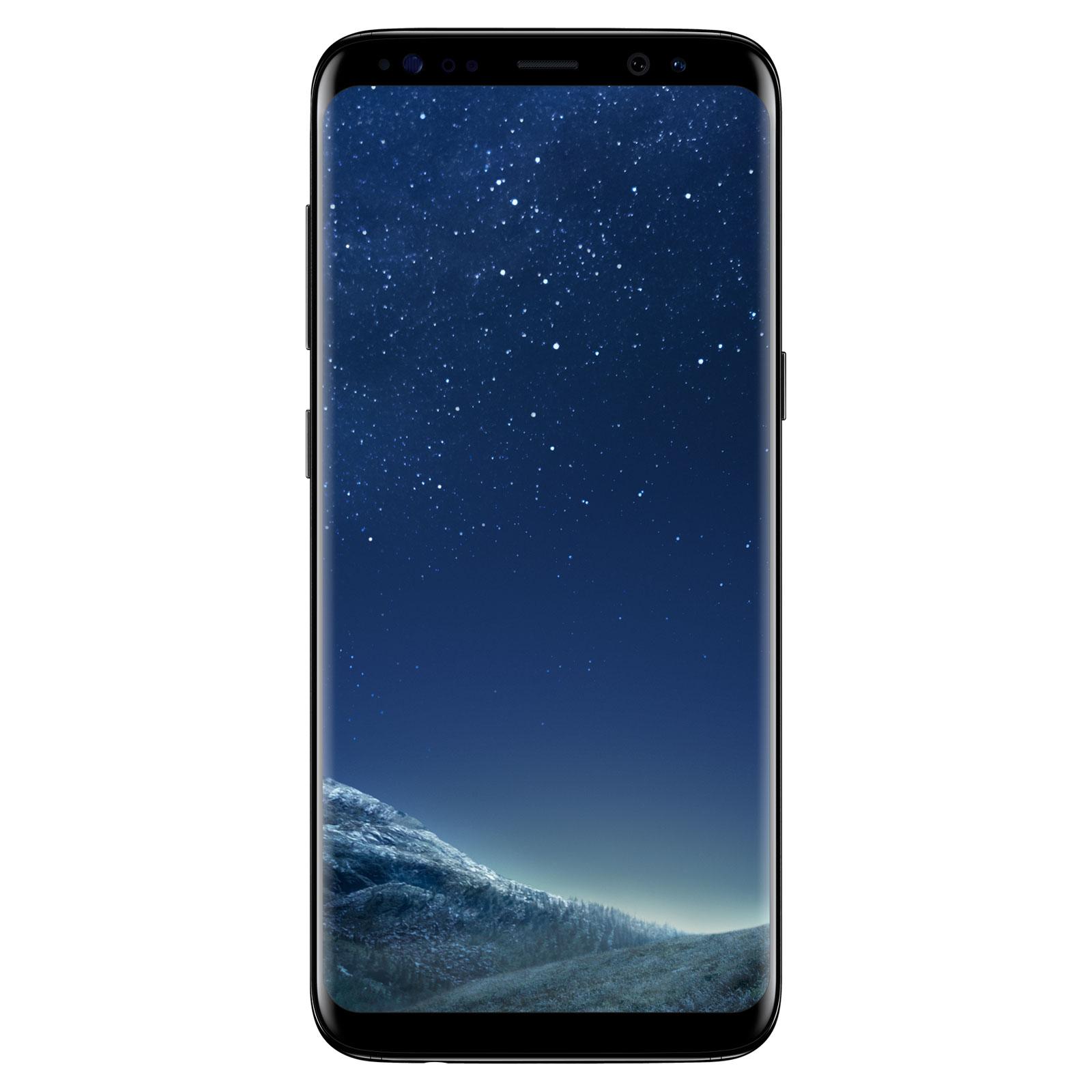 "Mobile & smartphone Samsung Galaxy S8 SM-G950F Noir Carbone 64 Go Smartphone 4G-LTE Advanced IP68 - Exynos 8895 8-Core 2.3 Ghz - RAM 4 Go - Ecran tactile 5.8"" 1440 x 2960 - 64 Go - NFC/Bluetooth 5.0 - 3000 mAh - Android 7.0"