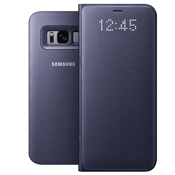 samsung led view cover violet samsung galaxy s8 etui. Black Bedroom Furniture Sets. Home Design Ideas