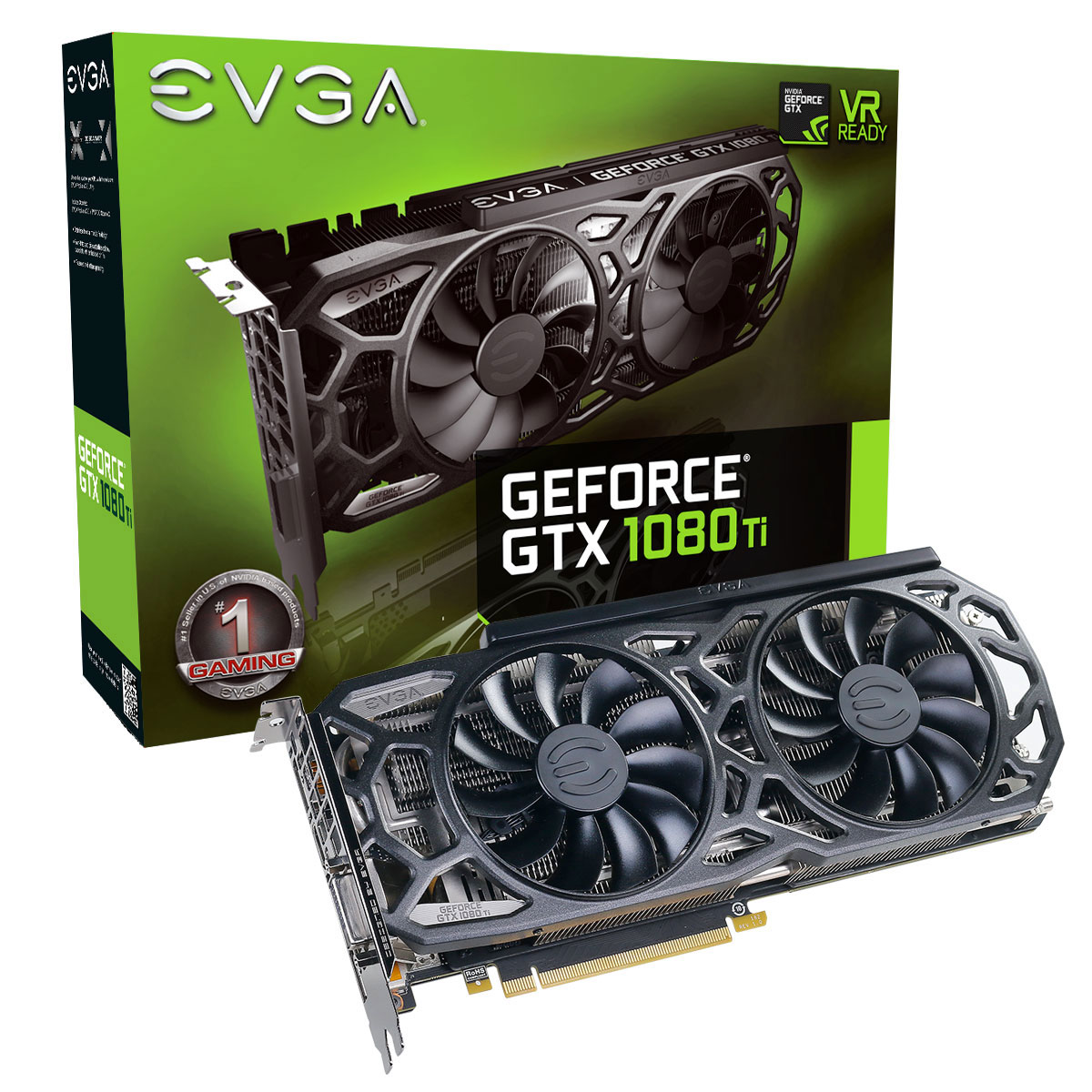 evga geforce gtx 1080 ti sc black edition gaming carte graphique evga sur. Black Bedroom Furniture Sets. Home Design Ideas