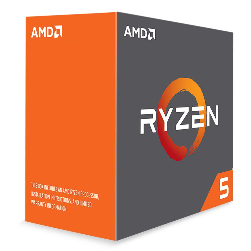 Processeur AMD Ryzen 5 1600X (3.6 GHz) Processeur 6-Core socket AM4 Cache L3 16 Mo 0.014 micron TDP 95W (version boîte/sans ventilateur - garantie constructeur 3 ans)