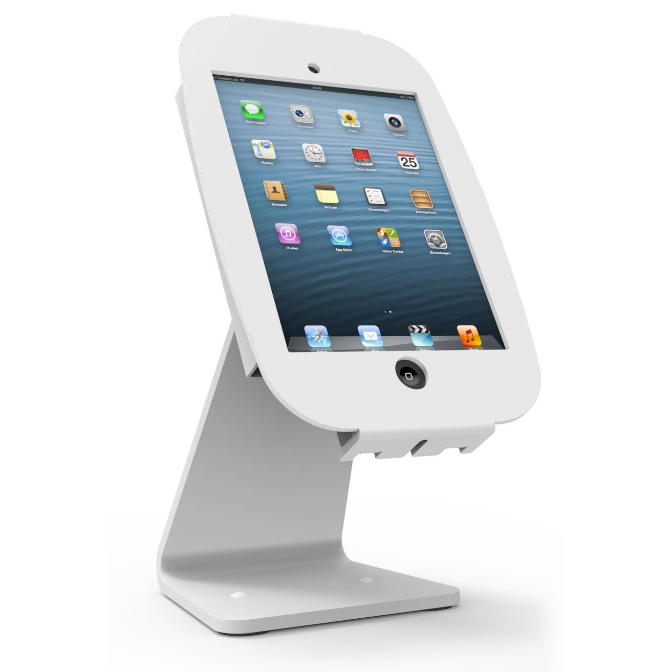 maclocks space ipad 360 kiosk blanc support tablette maclocks sur. Black Bedroom Furniture Sets. Home Design Ideas