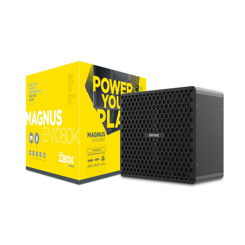 Barebone PC ZOTAC ZBOX MAGNUS EN1080K Intel Core i7-7700 GeForce GTX 1080 Wi-Fi AC / Bluetooth 4.2 (sans écran/mémoire/disque dur)