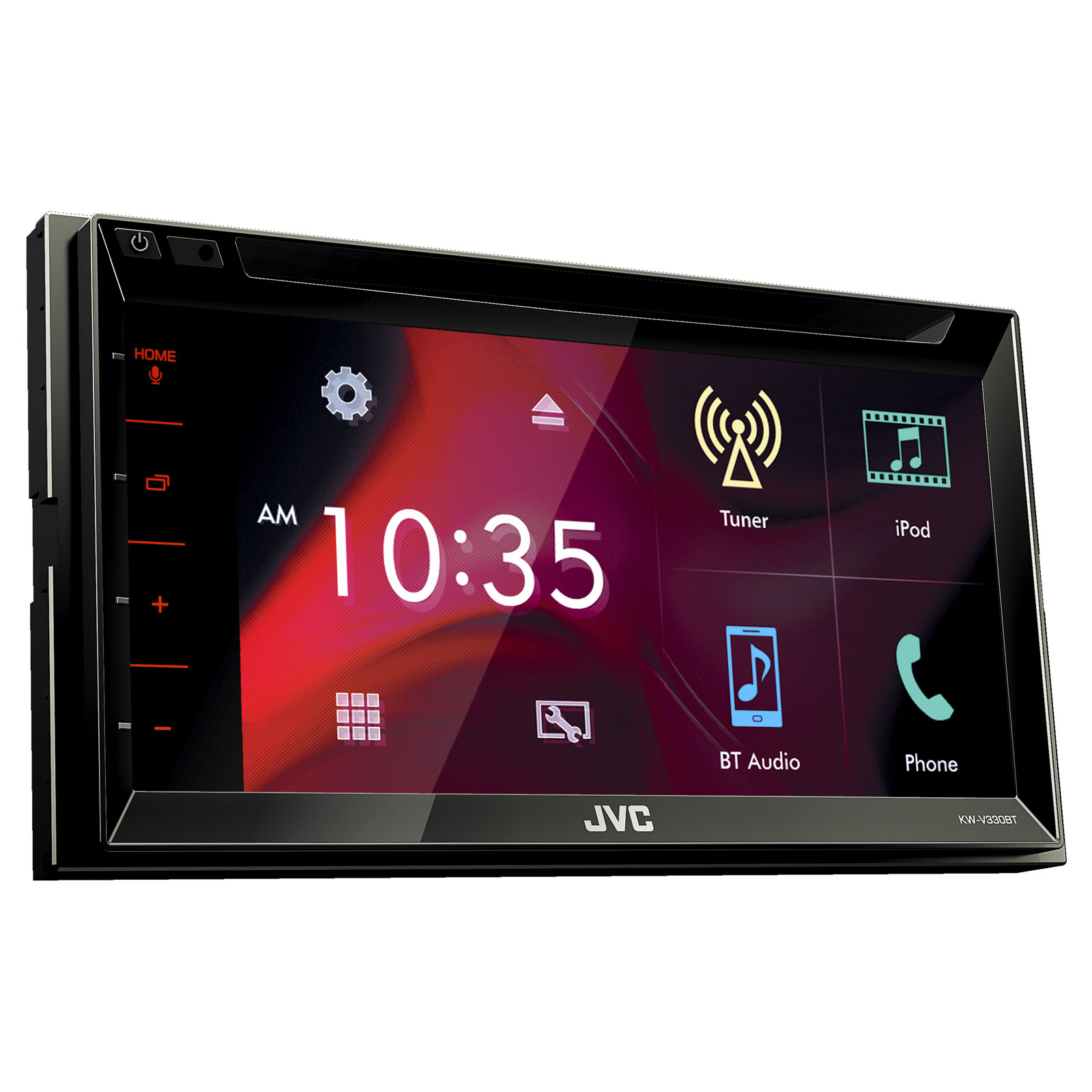 jvc kw v330bt autoradio jvc sur. Black Bedroom Furniture Sets. Home Design Ideas