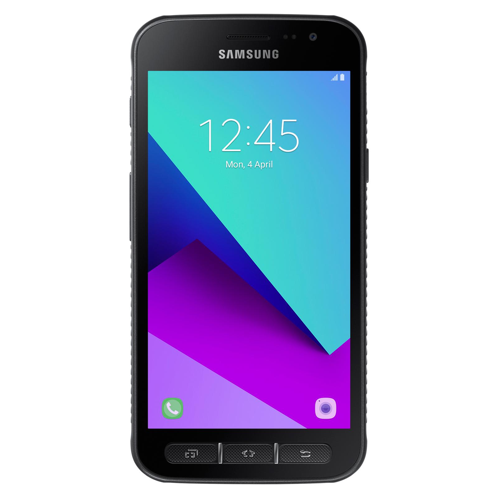 "Mobile & smartphone Samsung Galaxy Xcover 4 SM-G390F Noir Smartphone 4G-LTE IP68 - Exynos 7570 Quad-Core 1.4 Ghz - RAM 2 Go - Ecran tactile 5"" 720 x 1280 - 16 Go - NFC/Bluetooth 4.2 - 2800 mAh - Android 7.0"