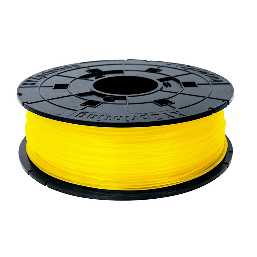 xyzprinting junior filament pla 600 g jaune filament 3d xyzprinting sur. Black Bedroom Furniture Sets. Home Design Ideas