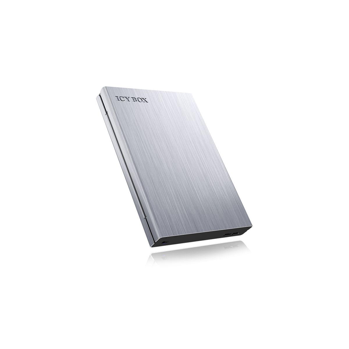"""Boîtier disque dur ICY BOX IB-241WP Boîtier pour disque 2.5"""" Serial ATA sur ports USB 3.0 avec protection des données"""