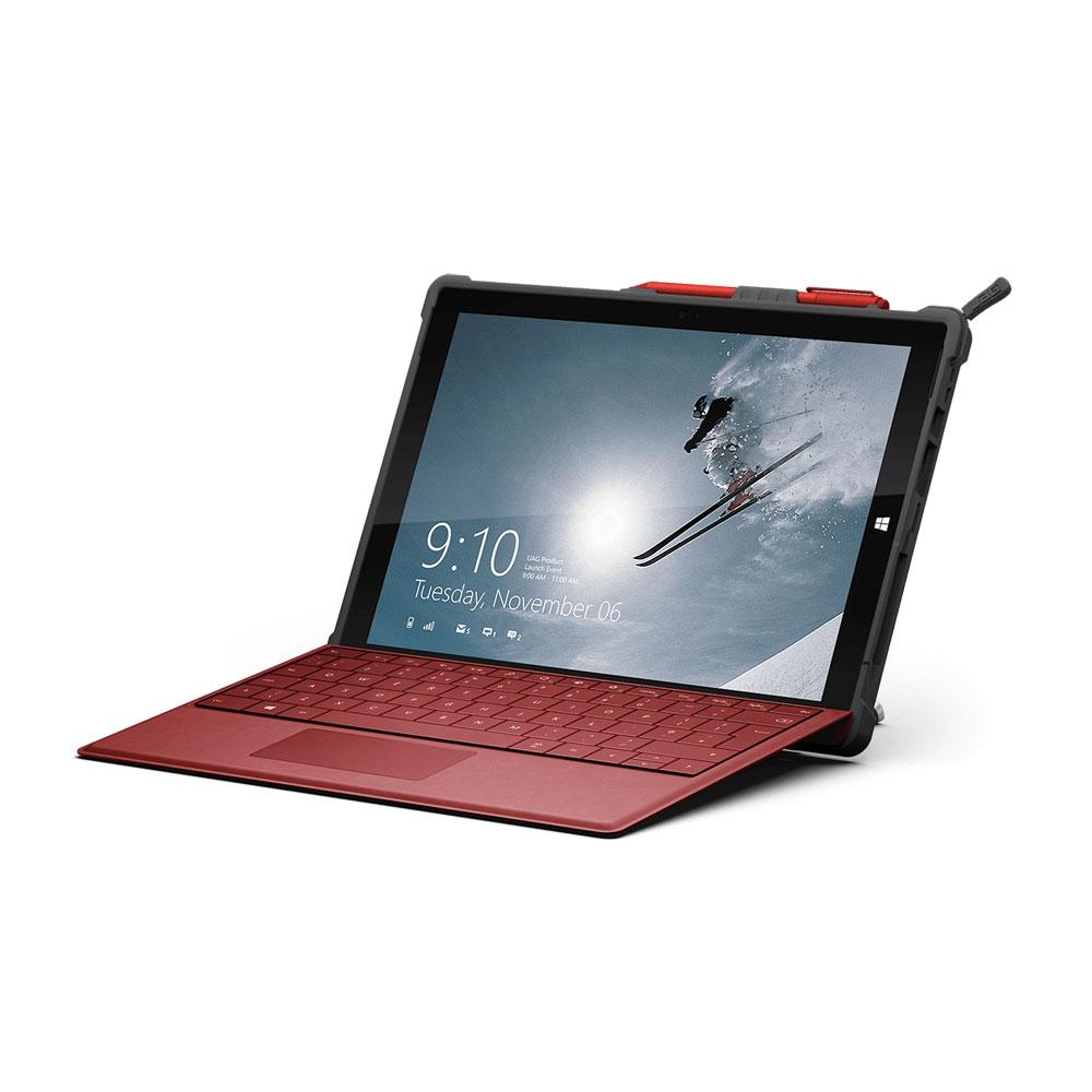 uag protection surface pro 4 rouge etui tablette uag sur. Black Bedroom Furniture Sets. Home Design Ideas